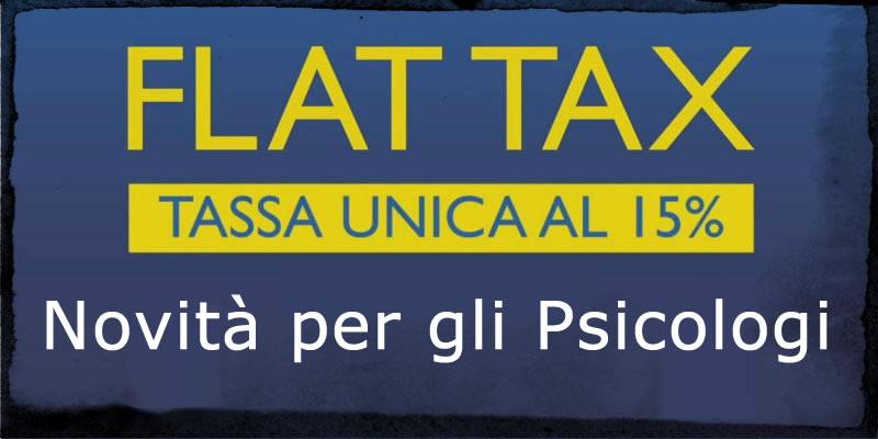 Flat Tax Psicologi