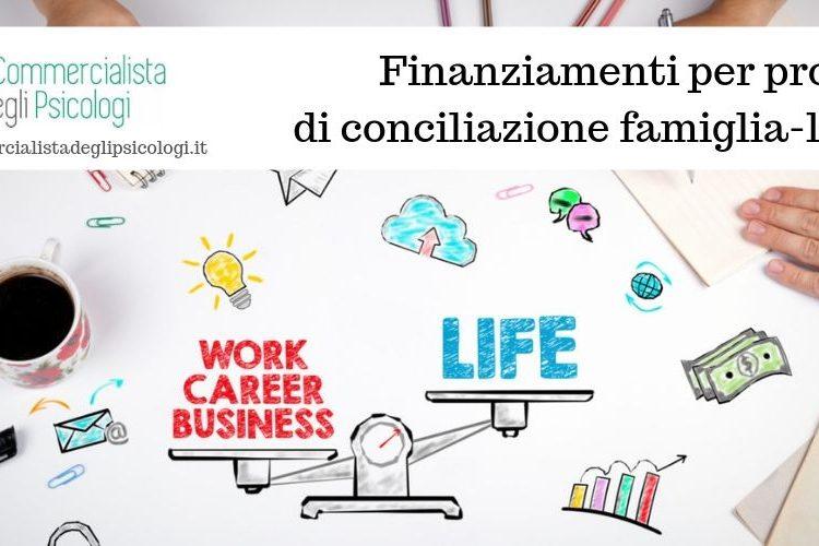 Finanziamenti per progetti di conciliazione famiglia-lavoro